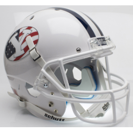 Brigham Young Cougars Never Forget Schutt XP Replica Full Size Football Helmet