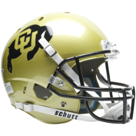Colorado Buffaloes Schutt XP Replica Full Size Football Helmet