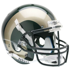 Colorado State Rams Schutt XP Replica Full Size Football Helmet