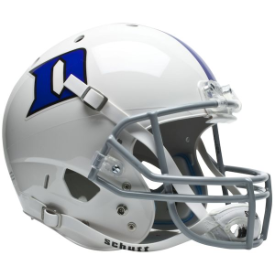 Duke Blue Devils Schutt XP Replica Full Size Football Helmet
