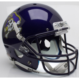 East Carolina Pirates Schutt XP Replica Full Size Football Helmet