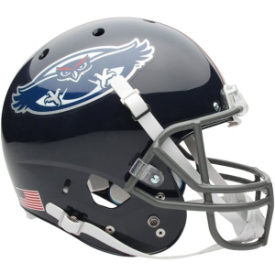 Florida Atlantic Owls Schutt XP Replica Full Size Football Helmet