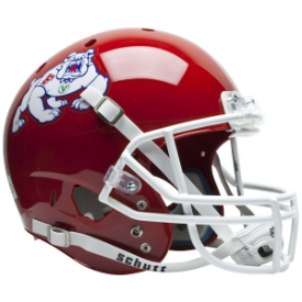 Fresno State Bulldogs Schutt XP Replica Full Size Football Helmet