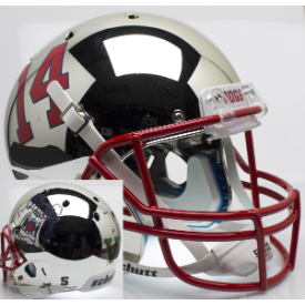 Fresno State Bulldogs Chrome Schutt XP Replica Full Size Football Helmet