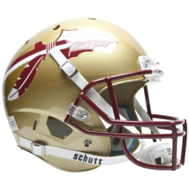 Florida State Seminoles Schutt XP Replica Full Size Football Helmet