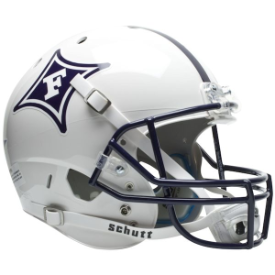 Furman Paladins Schutt XP Replica Full Size Football Helmet