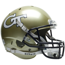 Georgia Tech YellowJackets Schutt XP Replica Full Size Football Helmet