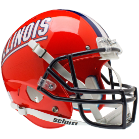 Illinois Fighting Illini Schutt XP Replica Full Size Football Helmet