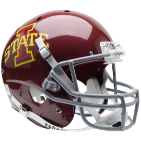 Iowa State Cyclones Schutt XP Replica Full Size Football Helmet