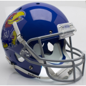 Kansas Jayhawks Schutt XP Replica Full Size Football Helmet