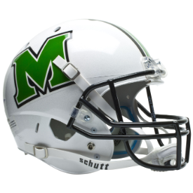 Marshall Thundering Herd Schutt XP Replica Full Size Football Helmet