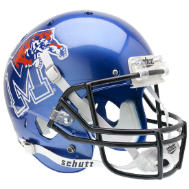 Memphis Tigers Schutt XP Replica Full Size Football Helmet