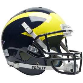 Michigan Wolverines Schutt XP Replica Full Size Football Helmet