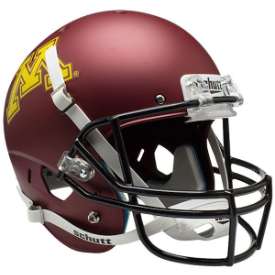 Minnesota Golden Gophers Schutt XP Replica Full Size Football Helmet