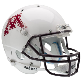 Minnesota Golden Gophers White Schutt XP Replica Full Size Football Helmet