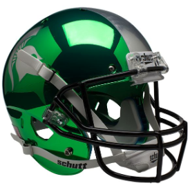 Michigan State Spartans Chrome Schutt XP Replica Full Size Football Helmet