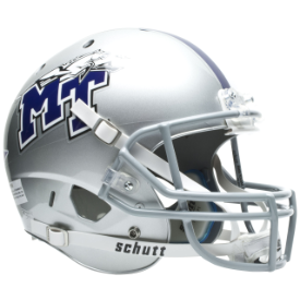 Middle Tennessee State Blue Raiders Schutt XP Replica Full Size Football Helmet