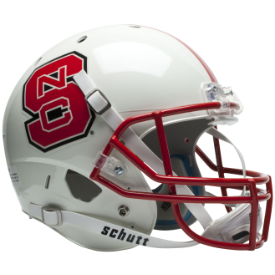 North Carolina State Wolfpack Schutt XP Replica Full Size Football Helmet