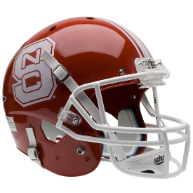 North Carolina State Wolfpack Red Schutt XP Replica Full Size Football Helmet