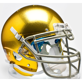 Notre Dame Fighting Irish Textured Schutt XP Replica Full Size Football Helmet