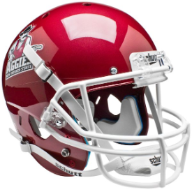 New Mexico State Aggies Schutt XP Replica Full Size Football Helmet