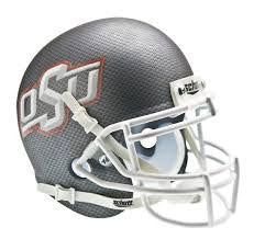 Oklahoma State Cowboys Carbon Fiber Schutt XP Authentic Full Size Football Helmet