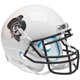 Oklahoma State Cowboys Pistol Pete White Schutt XP Replica Full Size Football Helmet