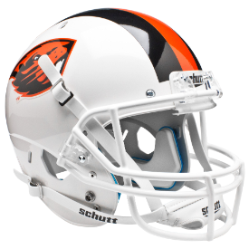 Oregon State Beavers White Schutt XP Replica Full Size Football Helmet