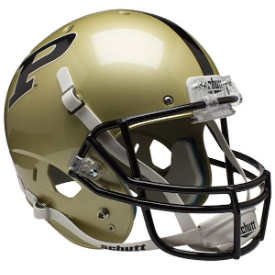 Purdue Boilermakers Schutt XP Replica Full Size Football Helmet