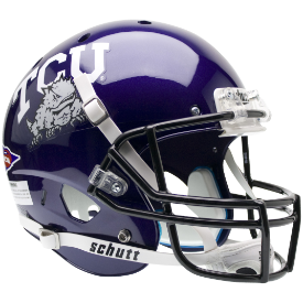 Texas Christian Horned Frogs Schutt XP Replica Full Size Football Helmet