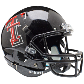 Texas Tech Red Raiders Schutt XP Replica Full Size Football Helmet