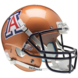 Arizona Wildcats Copper Schutt XP Replica Full Size Football Helmet