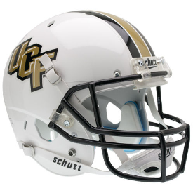Central Florida Golden Knights Schutt XP Replica Full Size Football Helmet