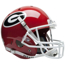Georgia Bulldogs Schutt XP Replica Full Size Football Helmet