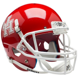 Houston Cougars Schutt XP Replica Full Size Football Helmet