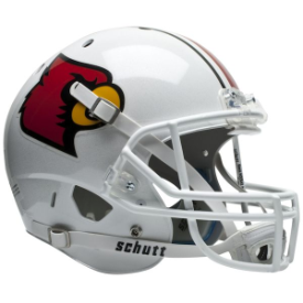 Louisville Cardinals Schutt XP Replica Full Size Football Helmet
