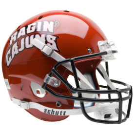 Louisiana Lafayette Ragin Cajuns Schutt XP Replica Full Size Football Helmet