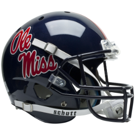 Mississippi (Ole Miss) Rebels Schutt XP Replica Full Size Football Helmet