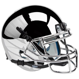Oregon Ducks Chrome Wing Schutt XP Replica Full Size Football Helmet
