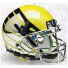 Oregon Ducks Liquid Lightning Schutt XP Replica Full Size Football Helmet