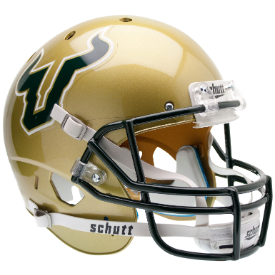 South Florida Bulls Schutt XP Replica Full Size Football Helmet