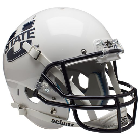 Utah State Aggies Schutt XP Replica Full Size Football Helmet