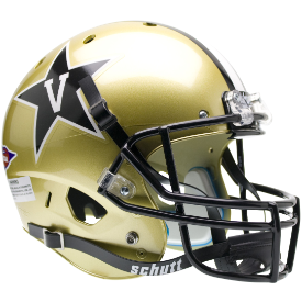 Vanderbilt Commodores Schutt XP Replica Full Size Football Helmet
