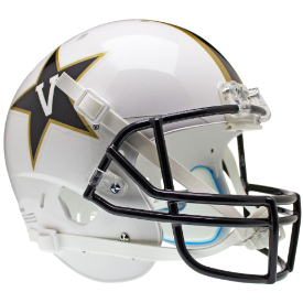 Vanderbilt Commodores White Schutt XP Replica Full Size Football Helmet