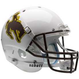 Wyoming Cowboys Schutt XP Replica Full Size Football Helmet