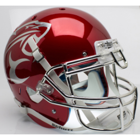 Houston Cougars Chrome Schutt XP Authentic Full Size Football Helmet