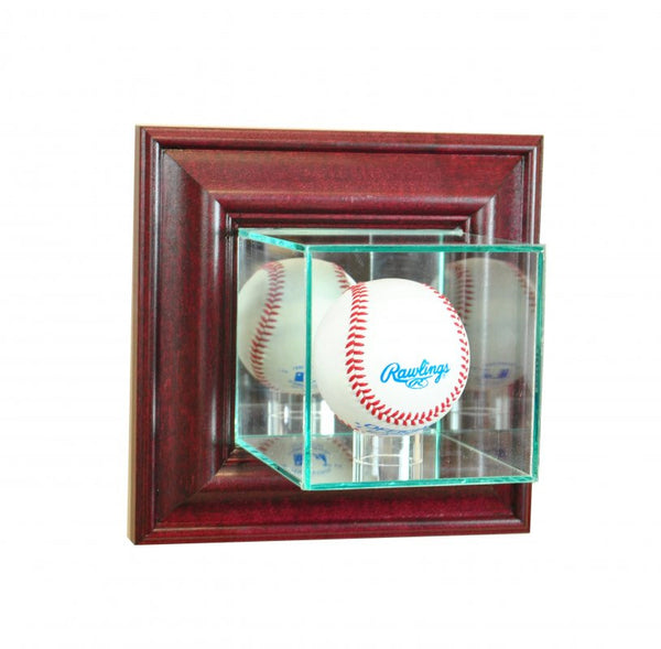 Wall Mounted Baseball Display Case