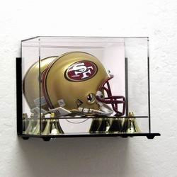 Deluxe Acrylic Mini Football Helmet display case - wall mountable