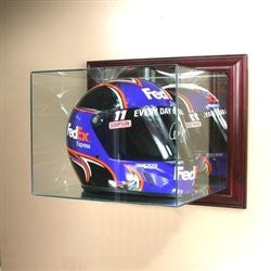 Wall Mounted Racing Helmet Display Case