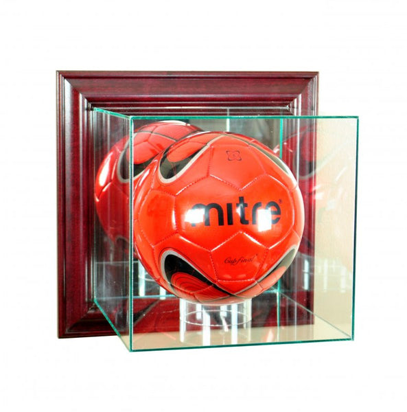 Wall Mounted Soccer Display Case